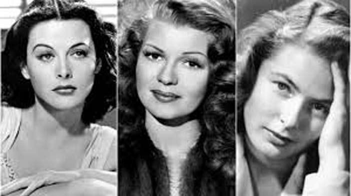 beautiful women in the 1940s